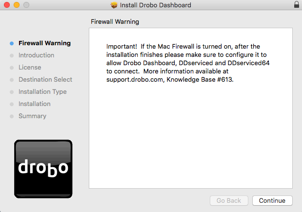 drobo dashboard for mac